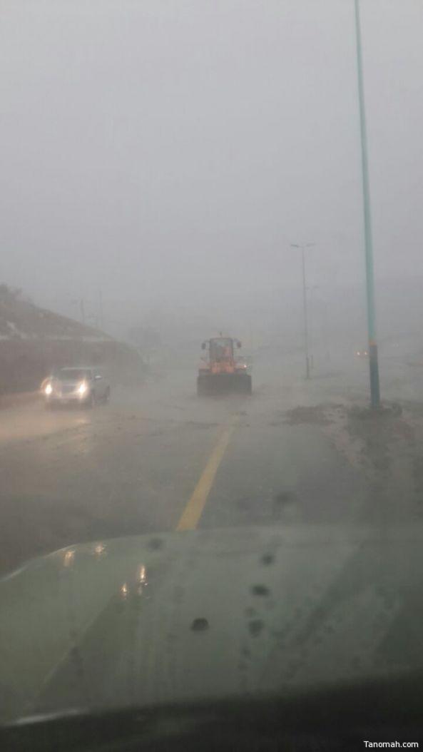 #أمطار من خفيفة إلى غزيرة على محافظات #عسير