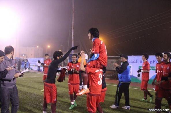 استمرار مباريات الجولة الثانية من تصفيات كأس المؤسسة بالنماص