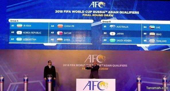 قرعة التصفيات النهائية لكأس العالم 2018