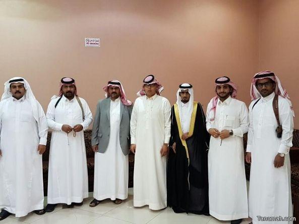 المهندس نايف محمد بن مزاوم يحتفل بزواجه