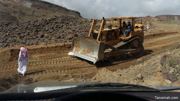 بلدية #البشاير تقوم بحصر نقاط تجمع مياه الأمطار