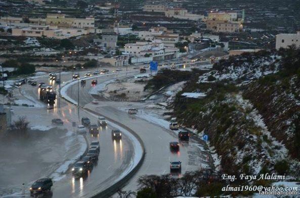 أمطار بللحمر السبت 16 رجب 1437هـ