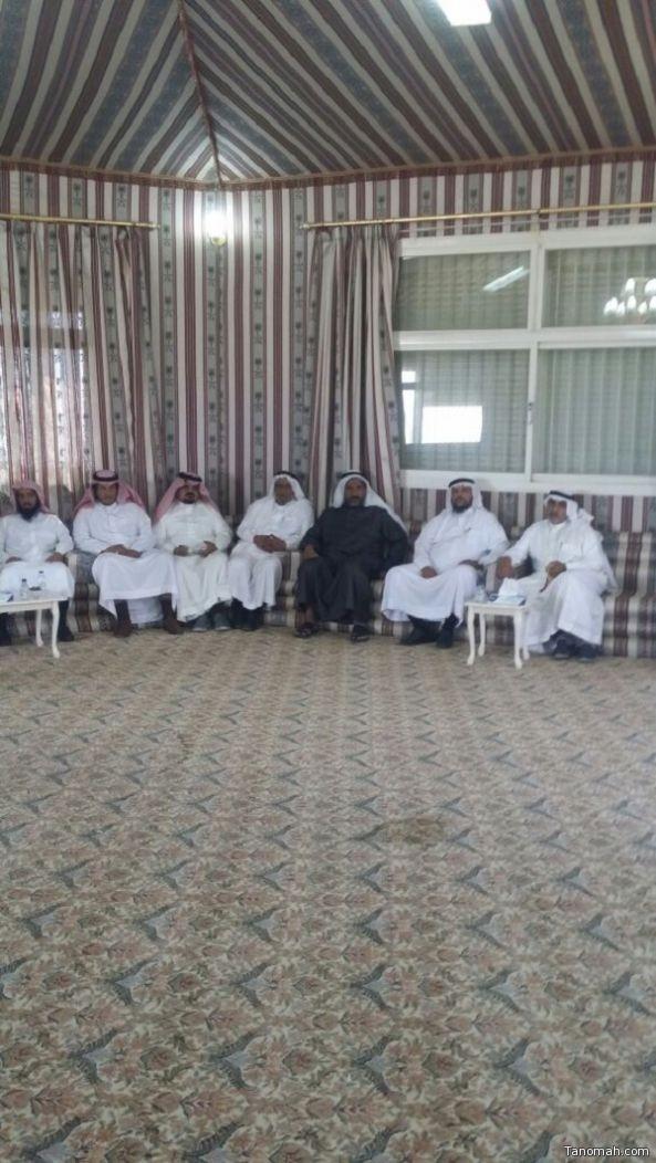تكريم ظافر بن عبدالله القرني بمناسبة تقاعده