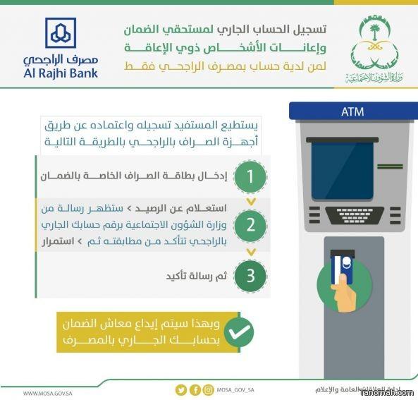 خدمة اضافة أرقام الحسابات لمستفيدي الضمات الاجتماعي في #تنومة غير متوفرة