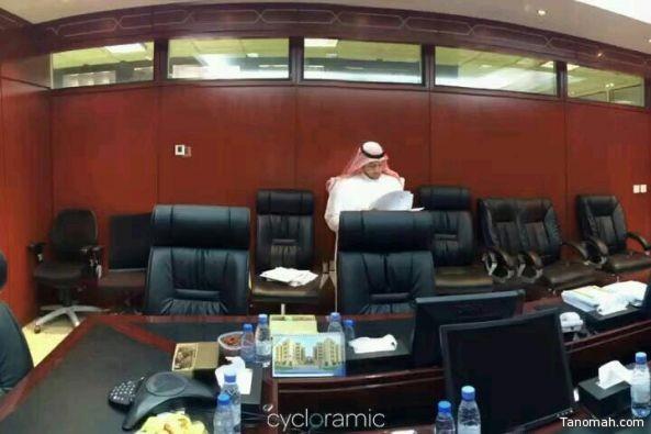 محمد احمد آل مزهر يحصل على درجة الماجستير في البلاغة