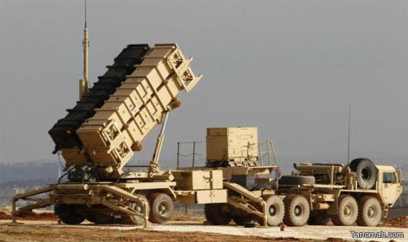 قوات الدفاع الجوي السعودي تعترض فجر اليوم صاروخاً بالستياً