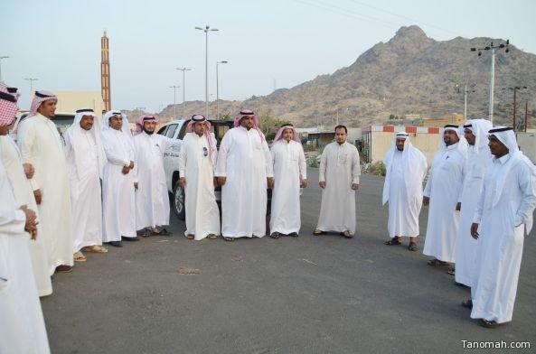 رئيس المجلس البلدي و رئيس بلدية #المجاردة يتفقدان احتياجات مركز أحد ثربان