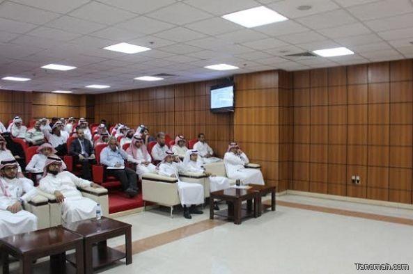 محاضرة بعنوان برنامج المضادات الحيوية بمستشفى خميس مشيط للولادة