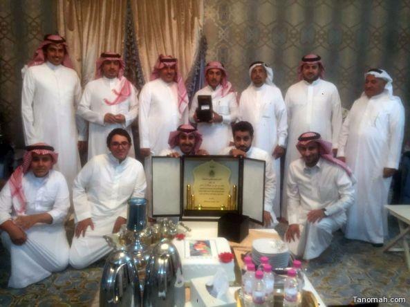 أسرة آل شاهر تحتفل بالملازم نواف