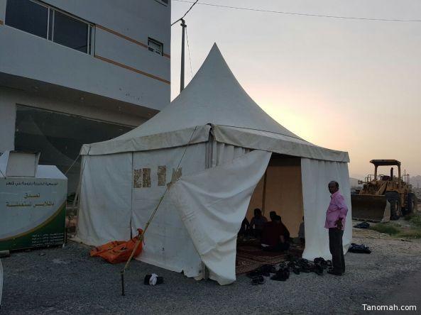 جمعية البر الخيرية بـ #تنومة تنفذ مشروع #إفطار_صائم