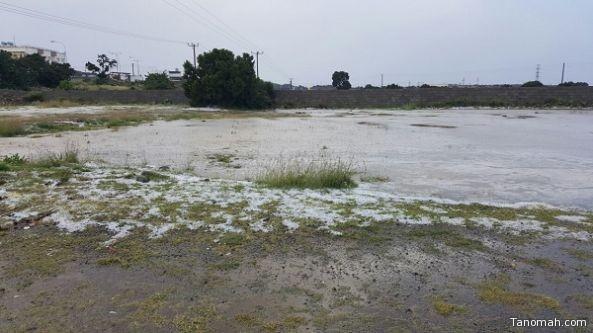 هطول أمطار على بعض محافظات عسير اليوم