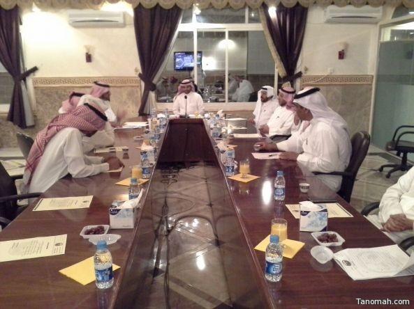 المجلس البلدي بمحافظة #تنومة يعقد جلسته الاعتيادية ل شهر #رمضان
