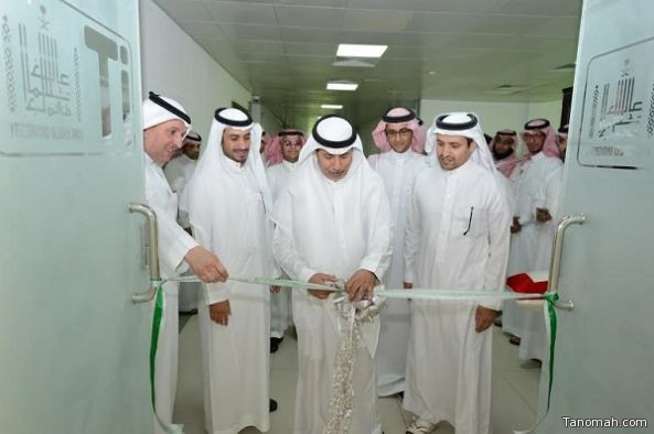 مدير جامعة الملك خالد المكلف يدشن 7 معامل حاسب آلي افتراضية