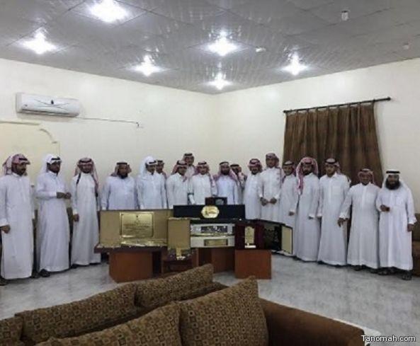 أسرة آل عايض تحتفي بشفاء الملازم عبدالله