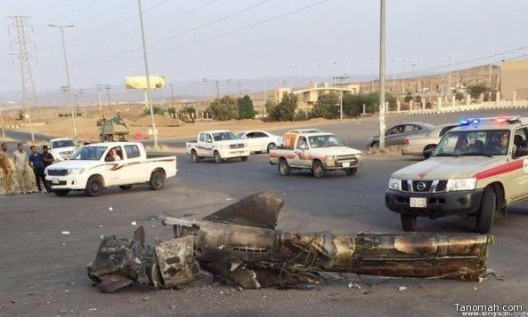اعتراض صاروخاً تم إطلاقه من الأراضي اليمنية باتجاه مدينة #أبها