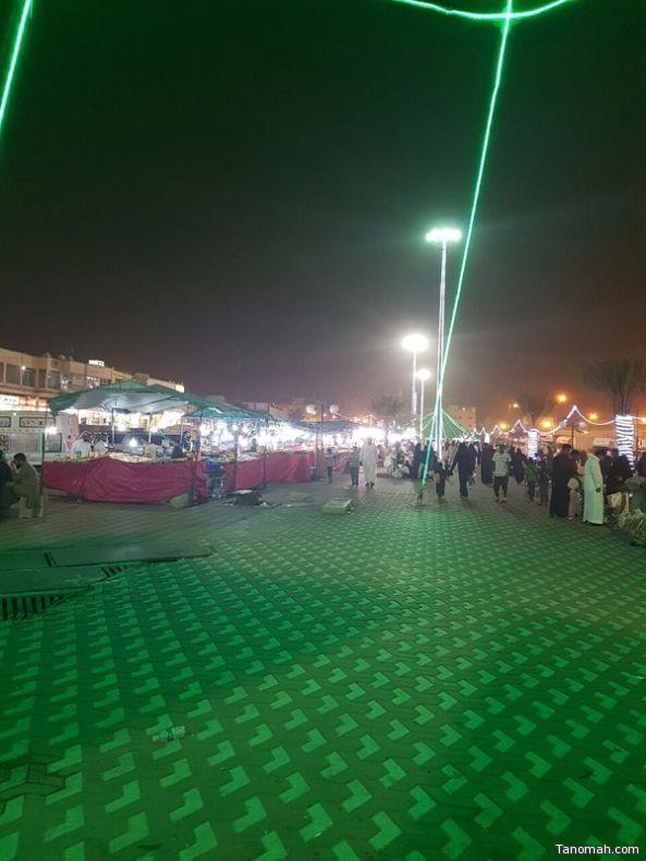 بلدية خميس مشيط تنتهي من تجهيزات إستقبال عيد الفطر المبارك