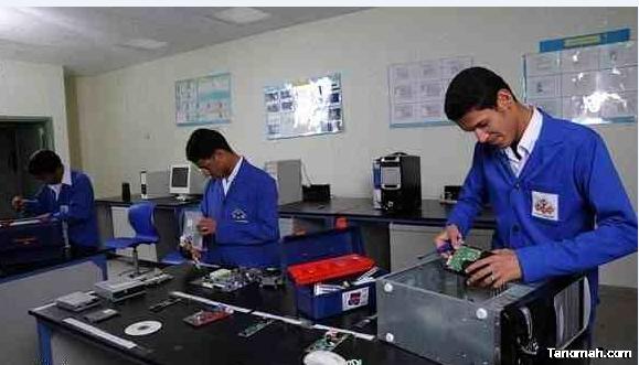التدريب التقني : بدء التسجيل في أكثر من 50 كلية تقنية عبر البوابة الإلكترونية الموحدة للقبول