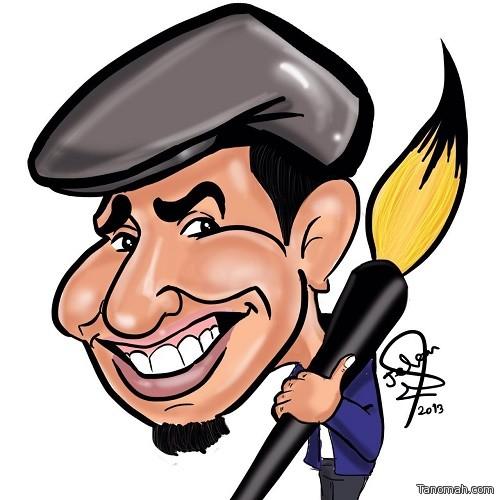 (مهرجان الكوميديا الدولي) بأبها يحشد أبرز رسامي #الكاريكاتير العرب