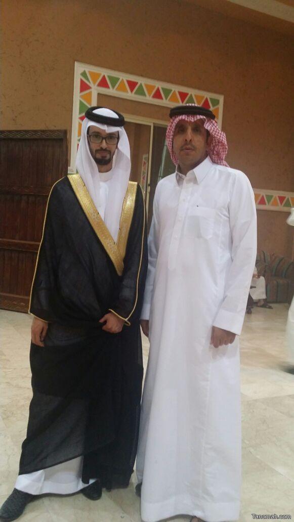 عبدالله آل قابل عريساً
