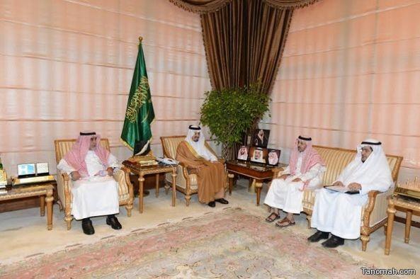 فيصل بن خالد يستقبل مندوبي دارة الملك عبدالعزيز