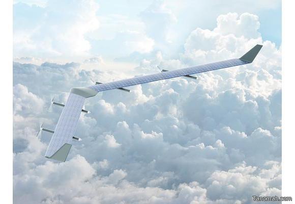 طائرة شمسية لبث #الإنترنت