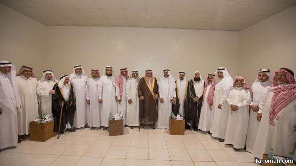 آل ملفي يحتفون بمعالي نائب وزير الخدمة المدنية عبدالله بن علي الملفي