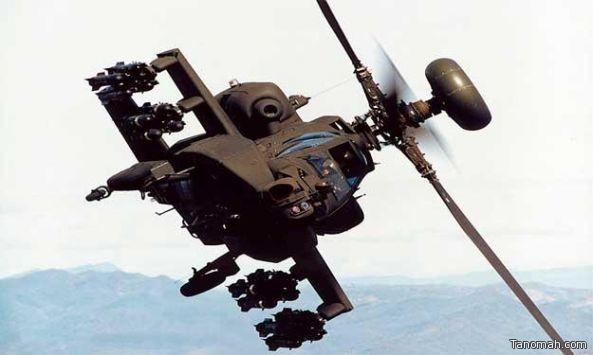 استشهاد طيارين في سقوط طائرة أباتشي