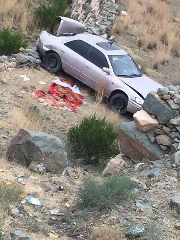 بالصور: إصابة عشرة أشخاص في حادث سيارة صغيرة بسدوان
