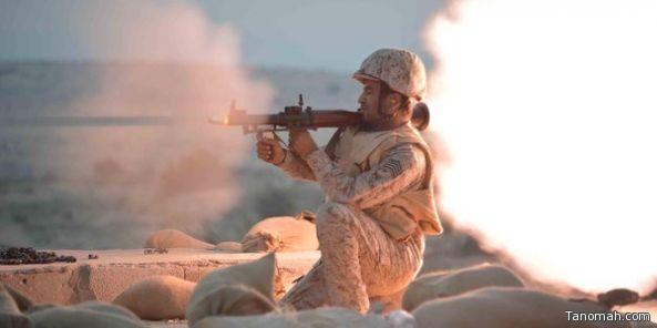 القوات السعودية تكبد الحوثي والمخلوع صالح خسائر كبيرة في الأرواح و استشهاد ضابط وستة أفراد