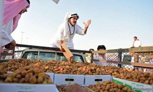 بيع أكثر من 350 ألف عبوة تمر في مهرجان بريدة للتمور