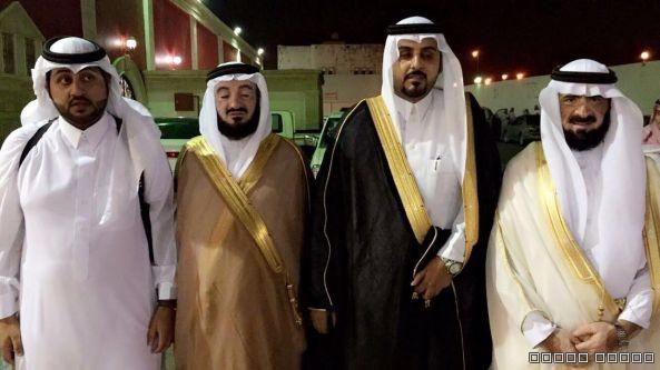 آل حمود يحتفلون بزواج الملازم سعود