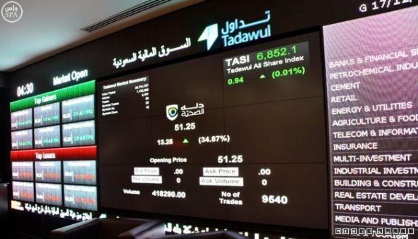 الأسهم السعودية تسجل تراجعاً عند 6027 نقطة
