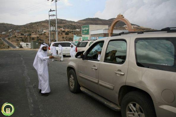 """بلدية #بني_عمرو تطلق حملة  """"من أجل بيئة أفضل"""""""