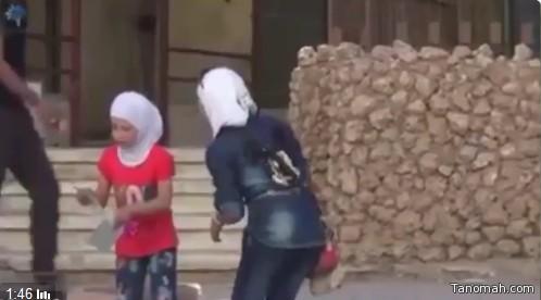 #شاهد ردة فعل أطفال #سوريا عندما وزعت عليهم عيديات