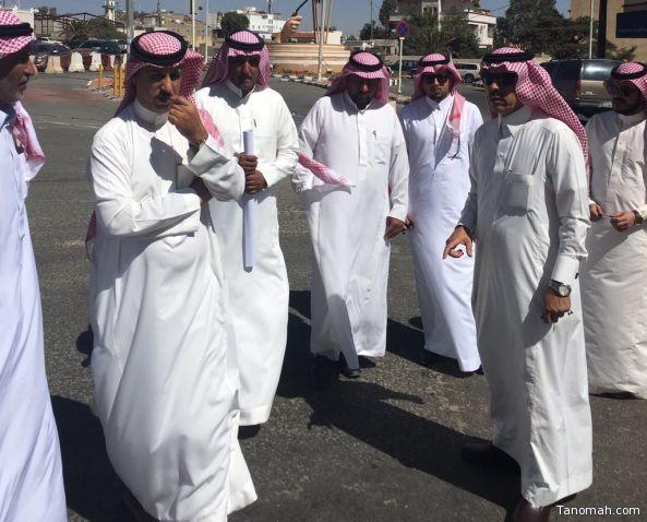 رئيس بلدية #النماص يستهل عمله بجولة على المحافظة