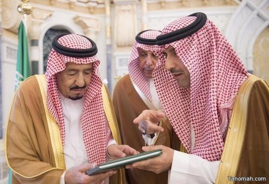 خادم الحرمين يتسلم نسخة من التقرير السنوي لديوان المراقبة