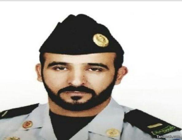 ترقية أحمد الشهري الى رئيس رقباء