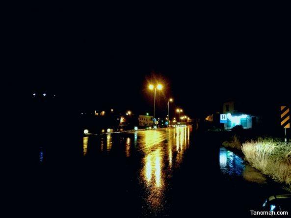 أمطار على #بيشة و #بللسمر وعدد من محافظات #عسير
