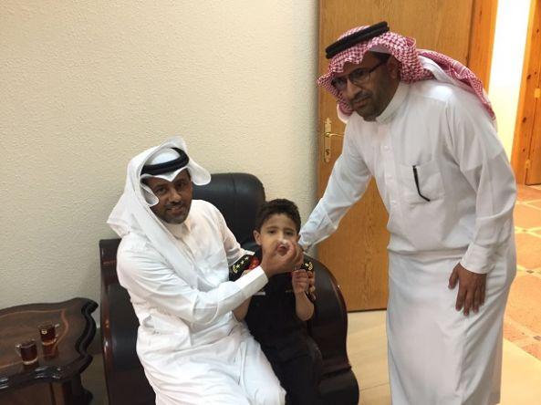 تدشين حملة شلل الأطفال بمحافظة تنومة
