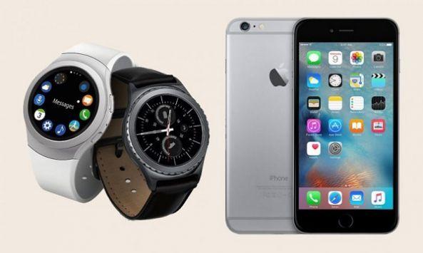 أخيرا ساعات سامسونج جير S2 و S3 و Gear Fit 2 متوافقة مع نظام iOS