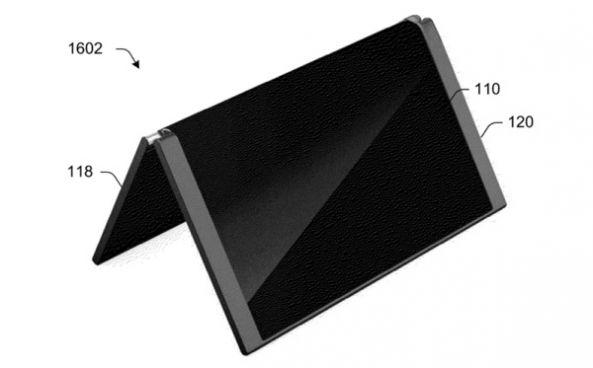 مايكروسوفت تسجل براءة اختراع لهاتف قابل للطي يتحول إلى حاسب لوحي