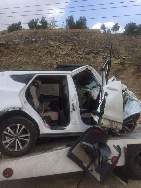 وفاة وأصابه سبعة أخرين في حادث مروري بطريق مربه