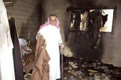 حريق يلتهم منزل مواطن في النماص