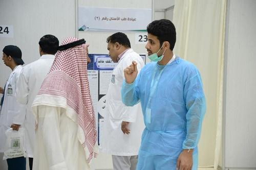 انطلاق البرنامج الصحي التوعوي التثقيفي بجامعة الملك خالد بالحريضة