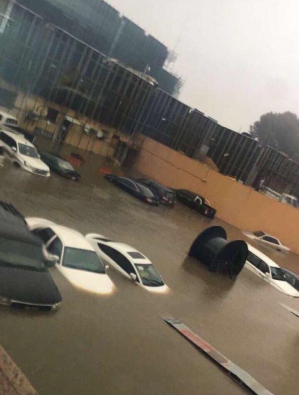 خدمات المياه بـ #عسير توضح أسباب انطلاق صافرات الإنذار في #أبها
