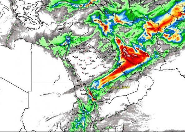 التقلبات الجوية تعلق الدراسة في #النماص و #تنومة و #بني_عمرو لليوم الثاني