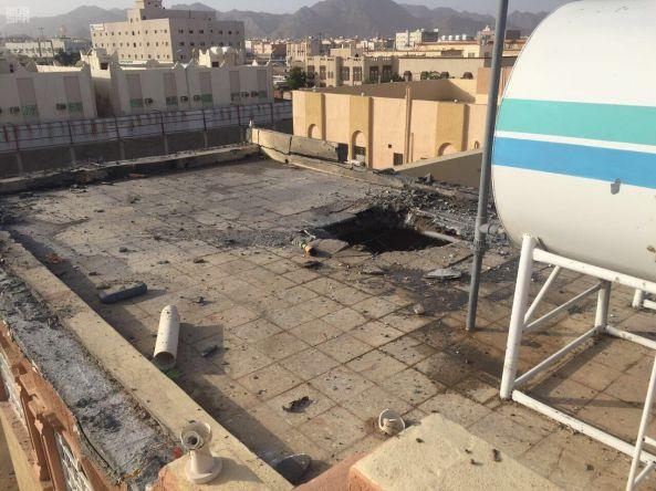 إصابة 4 مقيمين إثر مقذوفات عسكرية حوثية سقطت على #نجران