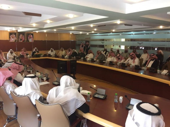 وكيل وزارة التعليم يجتمع بقيادات تعليم #النماص