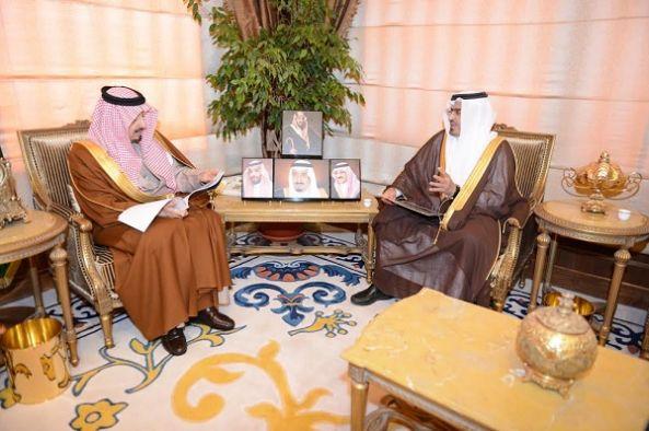 أمير عسير يتسلم  تقرير لمركز الأمير فيصل بن خالد للتربية الخاصة
