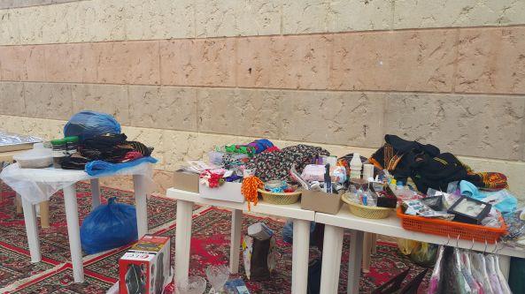 القسم النسائي بجمعية البر بـ #تنومة ينظم بازار نسائي